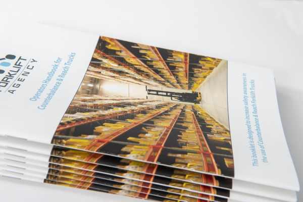 Forklift Truck Operators Handbook for Counterbalance & Reach