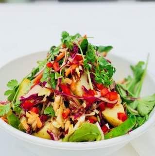 salad salmon