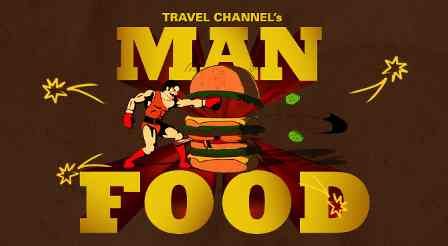 Man v Food Map