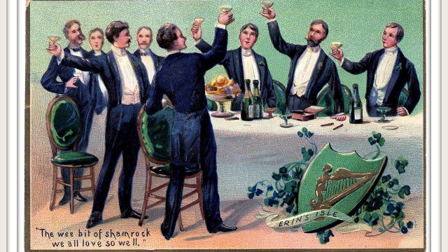 Saint Patrick's Day Toast