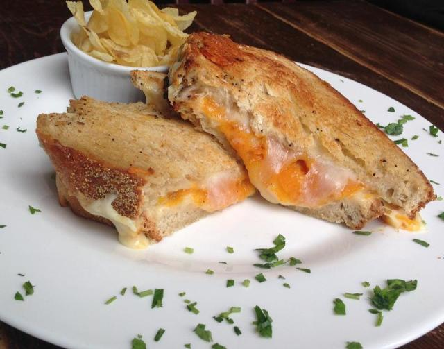 Butternut Squash Grilled Cheese