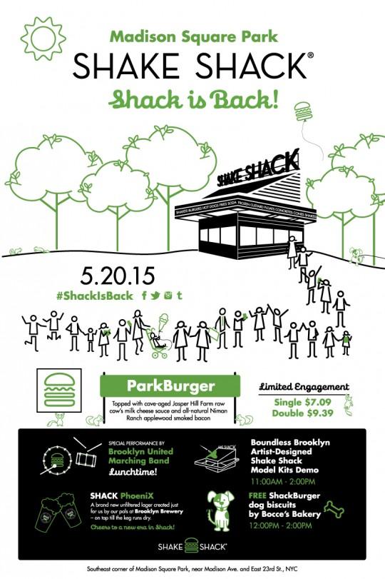 Shake Shack Reopening