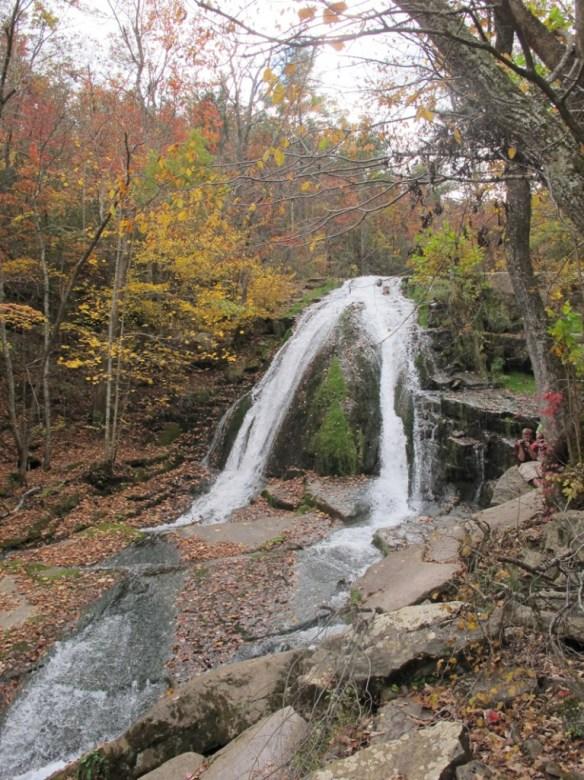 Roaring Run waterfall s