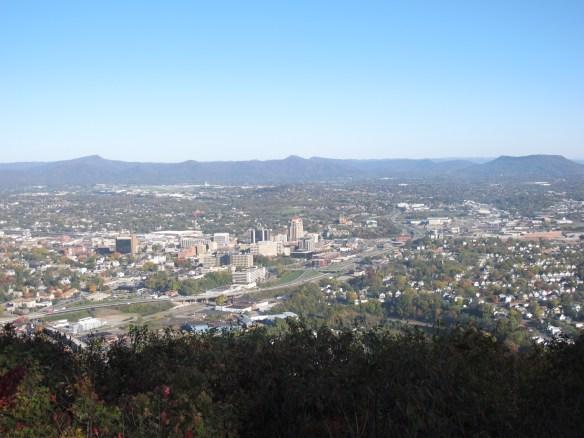 Nestled in the valley, Roanoke enjoys spectacular views of Virgnia's Blue Ridge Mountains.