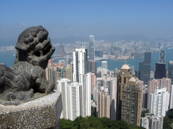Lion on Victoria Peak The Business of Feng Shui