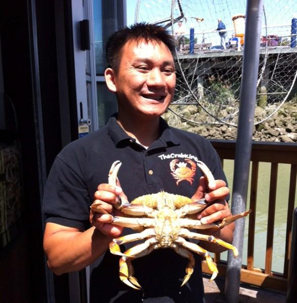 crab withVan