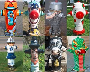 fire hydrants Tweed