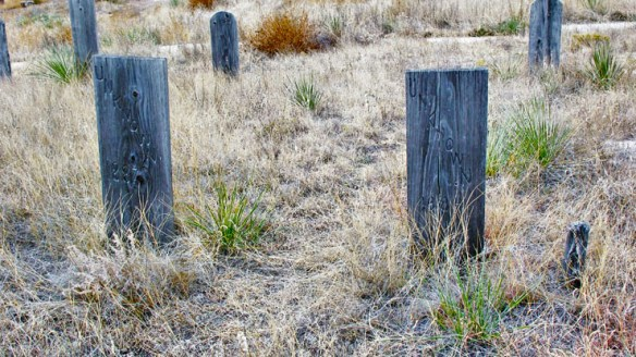 unknown graves Boot Hill prairie Ogallala
