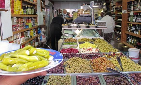 tel aviv market levinsky olives