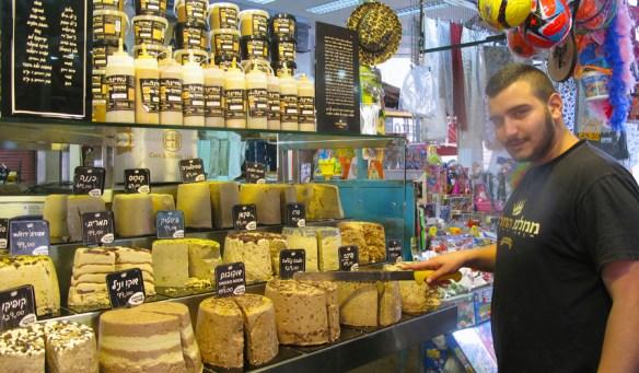 tel aviv markets halva Carmel