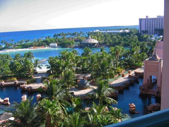 Atlantis view Don't Get SAD, get Sun in the Bahamas