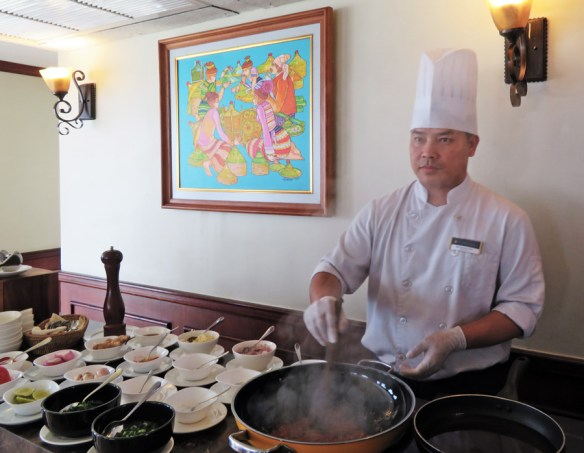 Amawaterways chef cooking