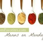 Menus on Mondays: 8/27/12
