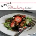 Spring Treat: Strawberry Salad!