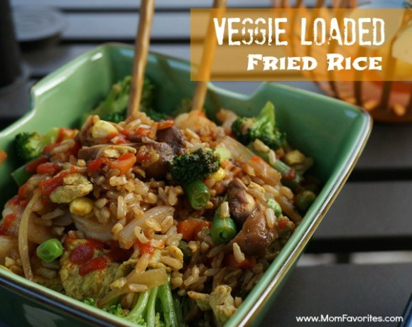 veggie loaded fried rice