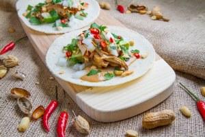 week 1 chicken tacos