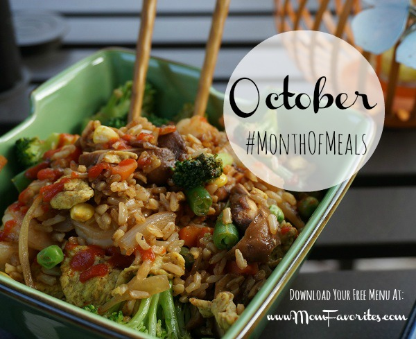 month of meals oct