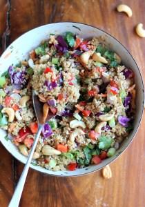 cashew thai quinoa