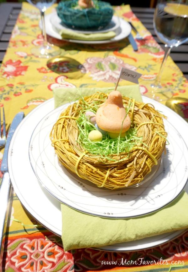 edible table setting