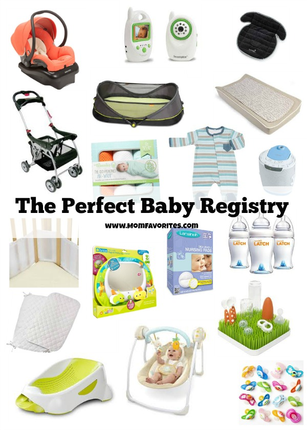 perfect baby registry