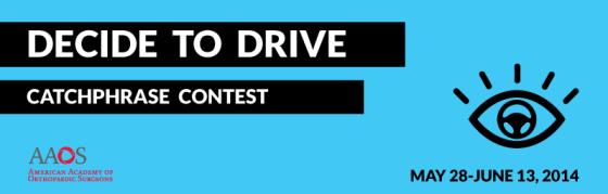 DecideToDrive contest