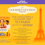 Foodie Call – Gourmet Getaway with World Market and The Hundred Foot Journey!