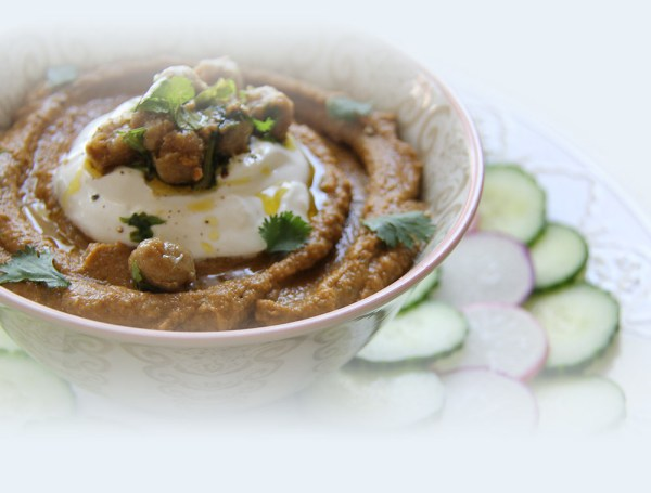 channa masala hummus