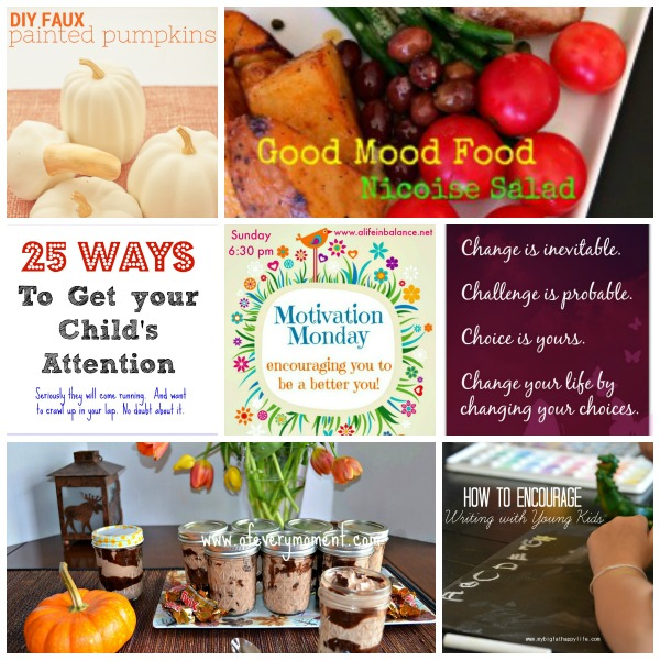 Motivation Monday is all about inspirational posts, healthy recipes, crafts, organizing tips, and home decorating ideas.
