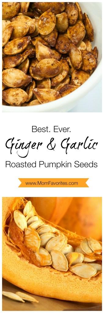 Best. Ever. Roasted Pumpkin Seeds