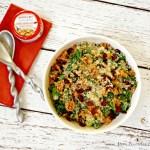 Quinoa and Kale Salad with Tuna