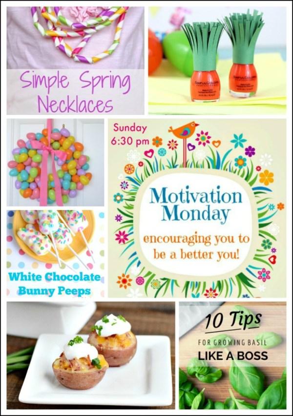 Motivation Monday Linky Party 136