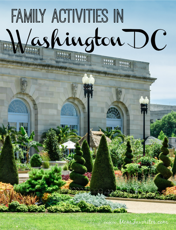 Trying to plan a fun-filled, kid-friendly weekend in Washington DC? Here are some suggestions to help you plan out your family itinerary for Washington DC.