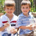 Ice Cream Milk: No Blender Milkshakes!