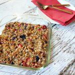 Berry Baked Oatmeal Recipe: Gluten Free & Dairy Free