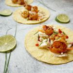 Tailgate Time with Spicy BBQ Shrimp Tacos