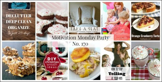 Motivation Monday Linky Party 170