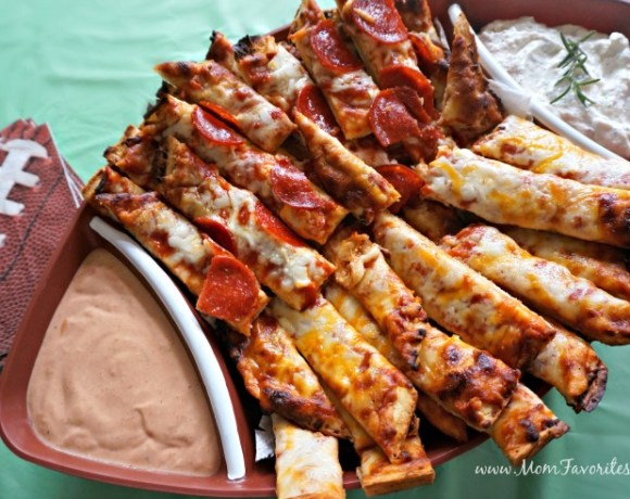 Double the fun with these two awesome game-time dipping sauces! Perfect for pizza, a veggie tray, chips and more!