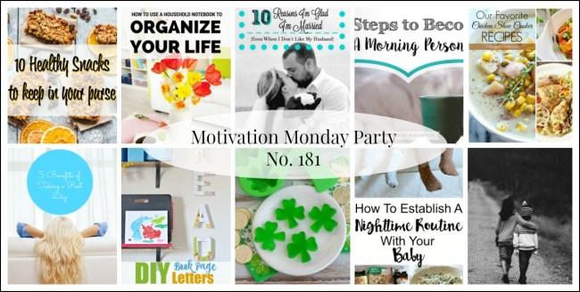 Motivation Monday Linky Party 181