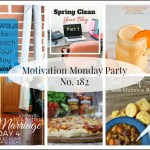 Motivation Monday Linky Party 182