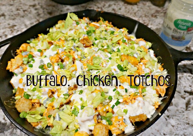 Ready for some football? Don't miss the game day app of the season: Buffalo Chicken Totchos! Plus, be sure to watch the video tutorial and enter our giveaway!