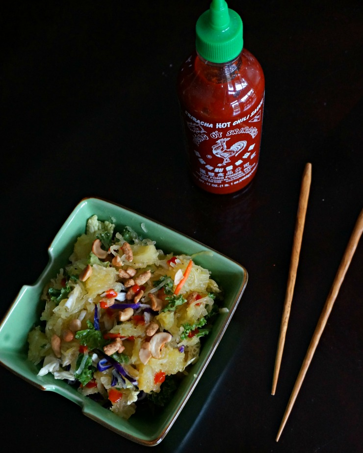 Make lunch exciting and healthy with this recipe for warm Asian salad using Eat Smart Gourmet Vegetable Kits.