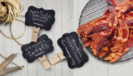 What makes a standard toffee recipe better? Bacon. Bring joy to everyone on your list this holiday season with the gift of Salted Caramel Bacon Toffee! Salted. Caramel. Bacon. Toffee.