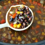 Super-Easy Slow Cooker Black Bean Soup