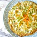 Spring Veggie Frittata Recipe: for Breakfast, Lunch or Dinner