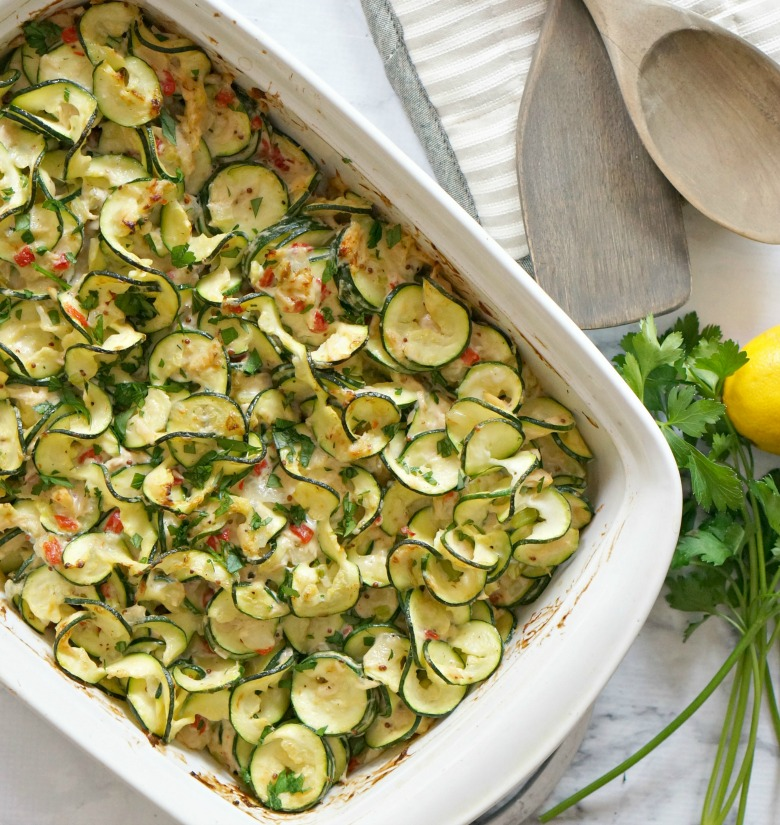 Craving comfort food but don't want the guilt? This Tuna Zoodle Casserole will do the job! Loaded with healthy zucchini noodles and Bumble Bee® Solid White Albacore Tuna, this dinner comes together quickly and is both paleo and gluten-free.