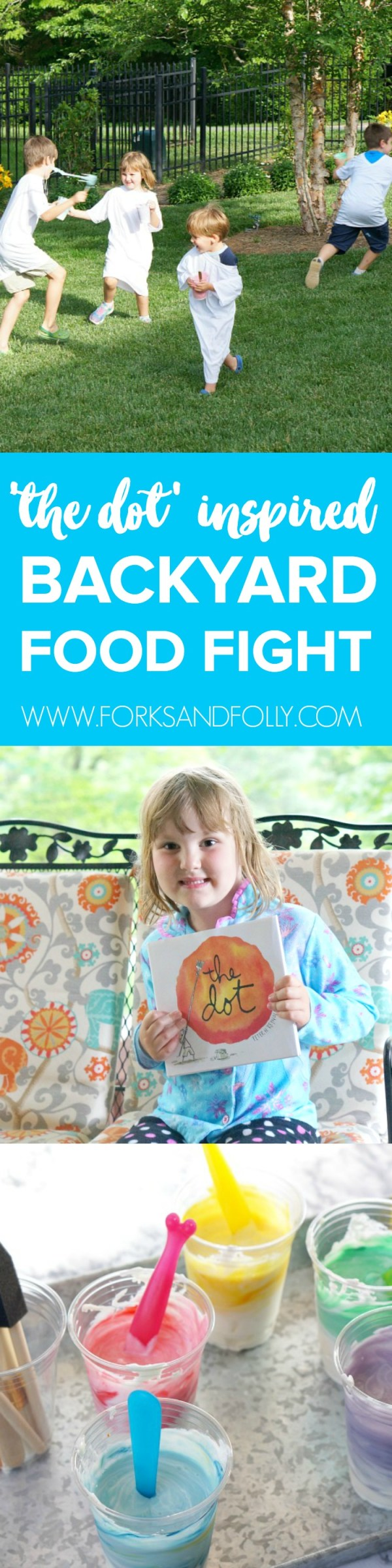 Let loose this summer with an old-fashioned backyard food fight! We've got the supplies for the fun and clean-up to make this a summer bucket list item you'll definitely want to plan on doing with your kids!!