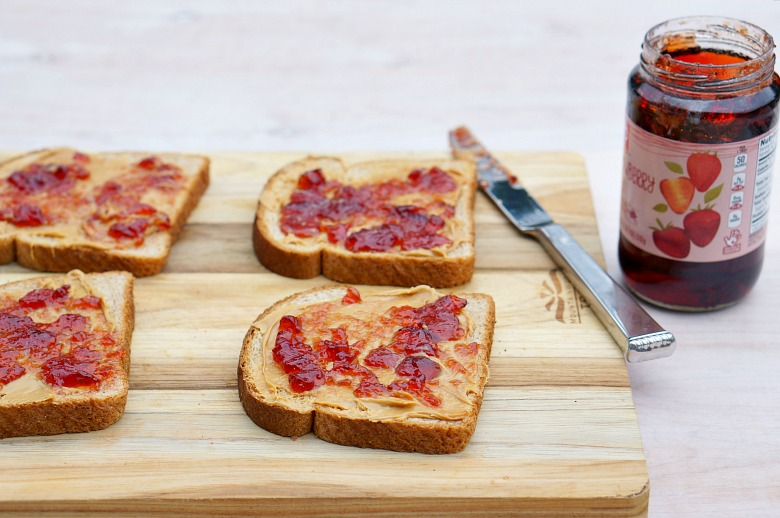 "Our Kitchen Stories Series continues with some Disney Junior fun! Celebrate ""FriYAY"" mornings this summer with Puppy Dog Pals and this recipe for Bingo and Rolly's Peanut Butter & Jelly Grilled Cheese!"