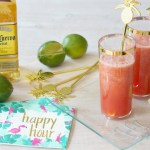 Four-Ingredient Watermelon Margaritas