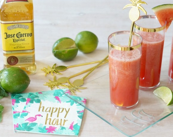 Don't let summer slip by without trying these delicious four-ingredient margaritas!  This is the perfect cocktail for your summer parties!
