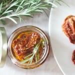 Easy Homemade Sundried Tomatoes